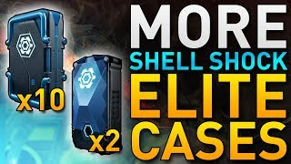 Opening 10 MORE Shell Shock Elite Cases | Dirty Bomb