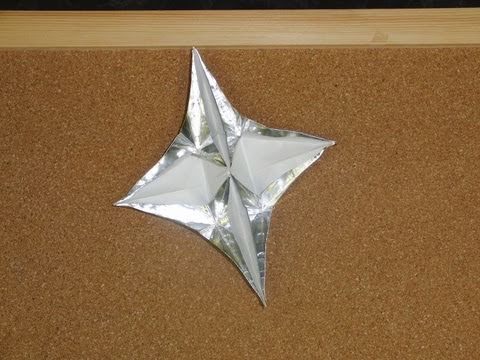 Daily Origami 057 Wishing Star Youtube