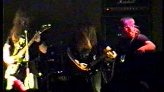 CANCER - GRUESOME TASKS & DEATH SHALL RISE (LIVE IN WREXHAM 3/5/91)