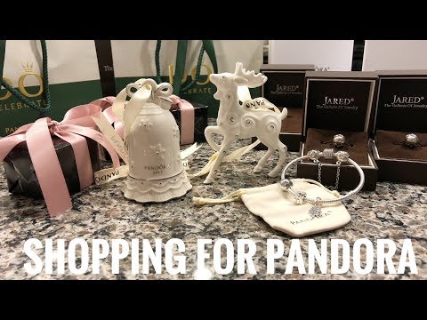 How I Shop For Pandora Jewelry Ft. Pandora Ornaments