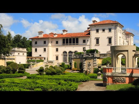Villa Vizcaya and Gardens [HD]