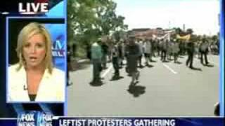 Anti-War Protesters Menace Intrepid Fox News Reporter!