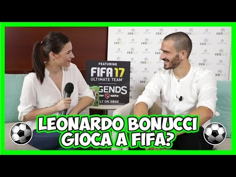 ⚽ FIFA 17: intervista a Leonardo Bonucci ⚽