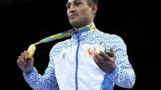 Fazliddin Gaibnazarov (Uzbekistan) Wins Gold vs Lorenzo Sotomayor (Azerbaijan) in Light Welterweigh