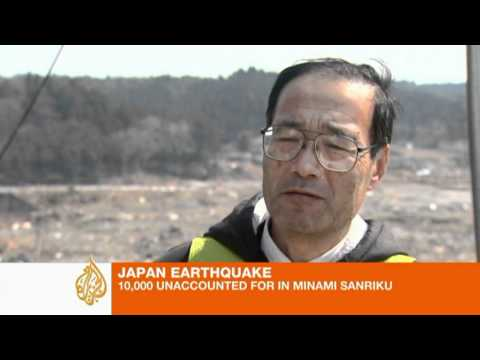 Thousands missing in Japanese city