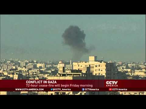 A 72-hour ceasefire between Israel and Hamas