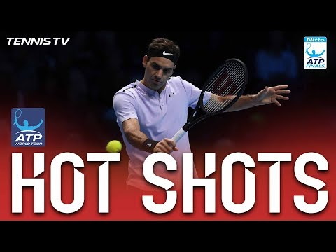 Federer Perfect Volley Hot Shot Nitto ATP Finals 2017
