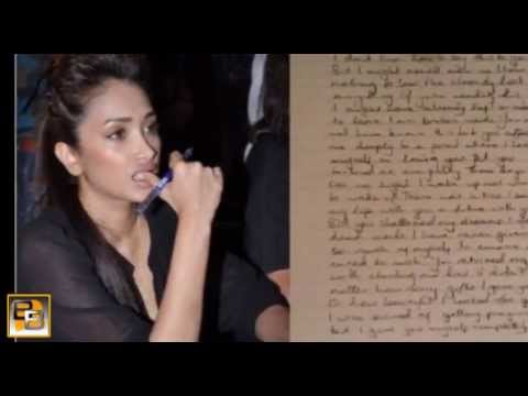 Jiah Khan's love letters FOUND at Suraj Pancholi's place