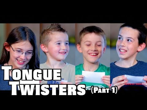 Sibling Rivalry  Tongue Twisters Part 1
