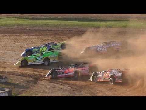 RUSH Crate Late Model Heat Two | McKean County Raceway | Fall Classic | 10-15-16