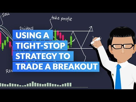 How To Use A Tight-Stop Strategy to Trade a Breakout