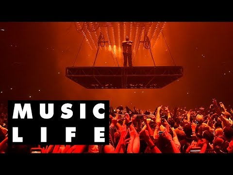 How Kanye West And Travis Scott's Stages Come To Life | Music Life