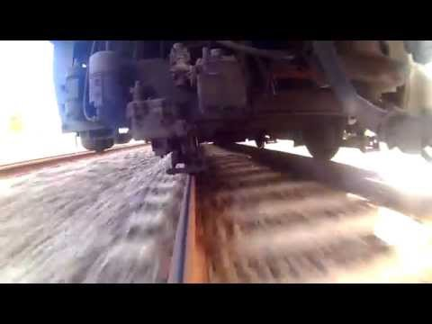 (HD) Train track Cam - Old Sydney Silver Train, Trackview