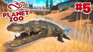 CROCODILE PIT! - Planet Zoo #5 w/ Vikkstar