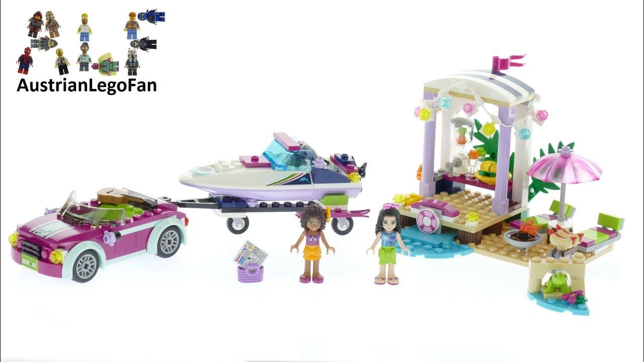 Lego Friends 41316 Andrea´s <b>Speedboat</b> Transporter - Lego <b>Speed</b> ...