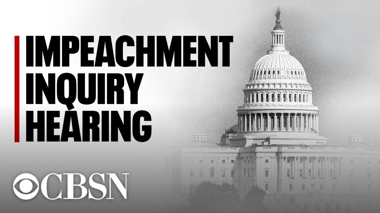 After one day of TV hearings, the impeachment battle lines remain ...
