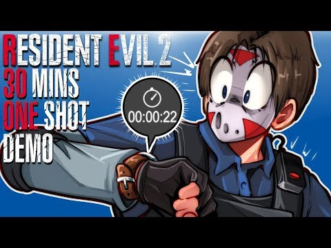 Resident Evil 2 One Shot Demo - THIS WAS A BIG TEASE!!!!!!!!!
