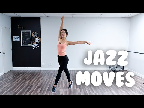 Simple Jazz Steps I Beginner Tutorial With @MissAuti