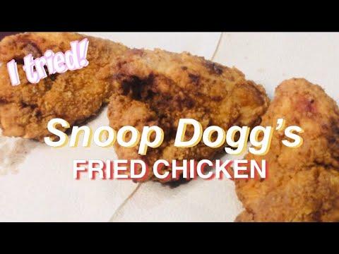 Snoop Dogg's Fried Chicken | Nicey Autencio - YouTube