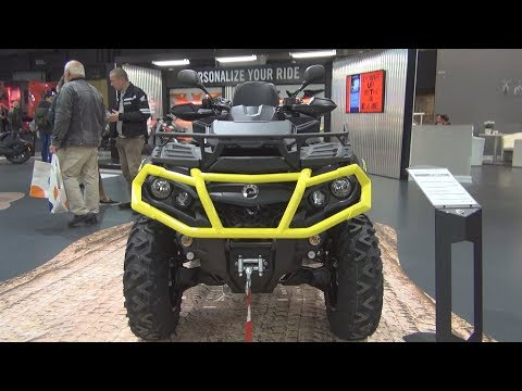 BRP Can-Am Outlander Max XT P 1000 T (2019) Exterior and Interior