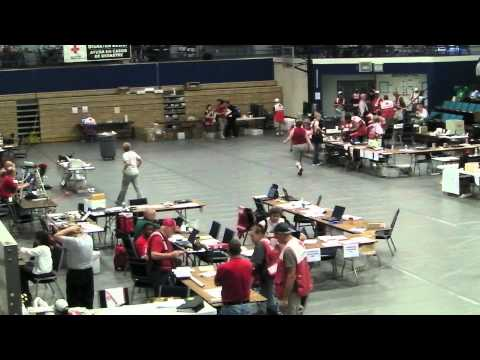 Joplin Job Headquarters: Red Cross Activity