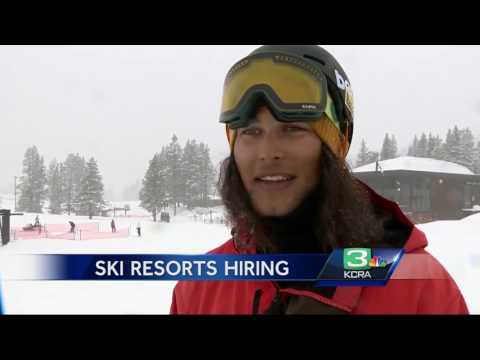 now problem? Ski resorts looking for workers