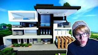 minecraft casas bonitas modernas casa moderna mansiones super hacer como disenos mansion blu games lovely shaders play google