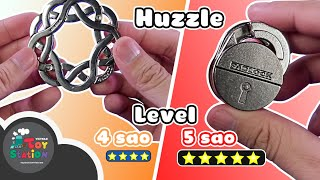 Coping with the 5 Star Huzzle Level and the close end of brain depression ToyStation 556