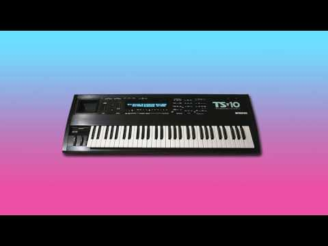Ensoniq TS-10 Amazing Hyperwaves & Pads
