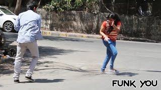 Epic Balloon Fight Prank on Girls