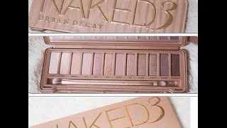 Naked 3 Palette Urban Decay: Review Thumbnail