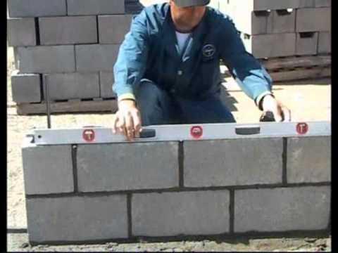 Bloques de hormig n herramientas necesarias aabh youtube for Como se construye una piscina de concreto