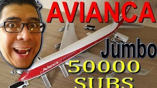 Video ¡ESPECIAL 50.000 SUSCRIPTORES! Avianca Jumbo Boeing 747. (#91) download MP3, 3GP, MP4, WEBM, AVI, FLV Juni 2018