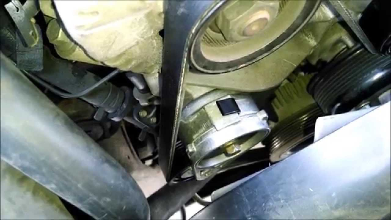 Ford Explorer Serpentine Belt And Tensioner Replace By Froggy