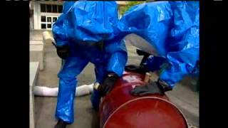 Students Train For Hazardous Materials Spill