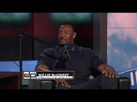 NFL Network's Willie McGinest on The Dan Patrick Show (Full Interview) 10/6/17