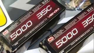 Venom 35C 3S 5000mAh 11.1 LiPO Battery with Universal Plug System  15026