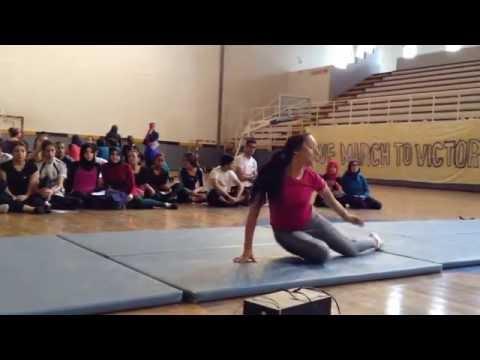 enchainement gymnastique bac sport 2016 , noté sur 20