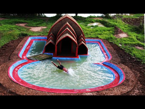 Build The Best Amazing Swimming Pool Around Mud House