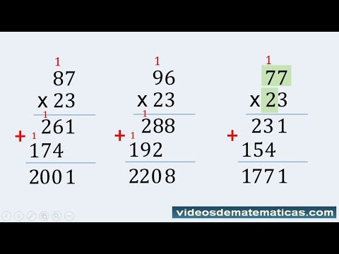 Multiplying Two Digit Numbers For Kids