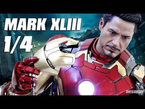 Hot Toys 1/4 Iron Man Mark 43 Avengers AOU Review / DiegoHDM