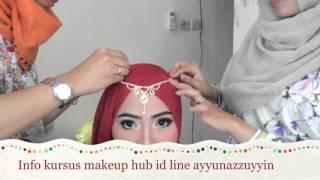 Video Tutorial hijab pesta simple ( kursus makeup Ayyun) download MP3, 3GP, MP4, WEBM, AVI, FLV Agustus 2017