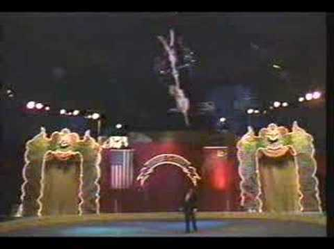 Rebeca Arthur  1989 Circus of the Stars pt. 2