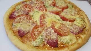 Домашняя пицца ✧ Вкусная и тонкая