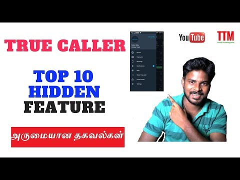Best 10 Unknown Secret Hidden Settings in True Caller || Tamil TechMagazine from YouTube · Duration:  10 minutes 38 seconds