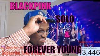 BLACKPINK - 'SOLO' + '뚜두뚜두(DDU-DU DDU-DU)' + 'FOREVER YOUNG' in 2018 SBS Gayodaejun REACTION