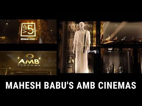 Mahesh Babu's AMB Cinemas, Hyderabad in sarath city capital