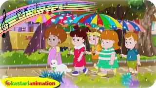 TIK TIK TIK BUNYI HUJAN | Bersama Diva | Lagu Anak Indonesia | Kastari Animation Official