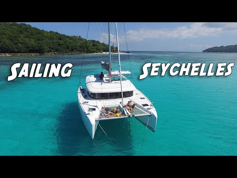 Seychelles Sailing Cruise - A big surprise on day 1 of Sailing to St Anne, Praslin, la Digue