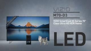"""All-New 2016 VIZIO M70-D3 SmartCast™ M-Series 70"""" Class Ultra HD HDR // Full Specs Review  #VIZIO"""